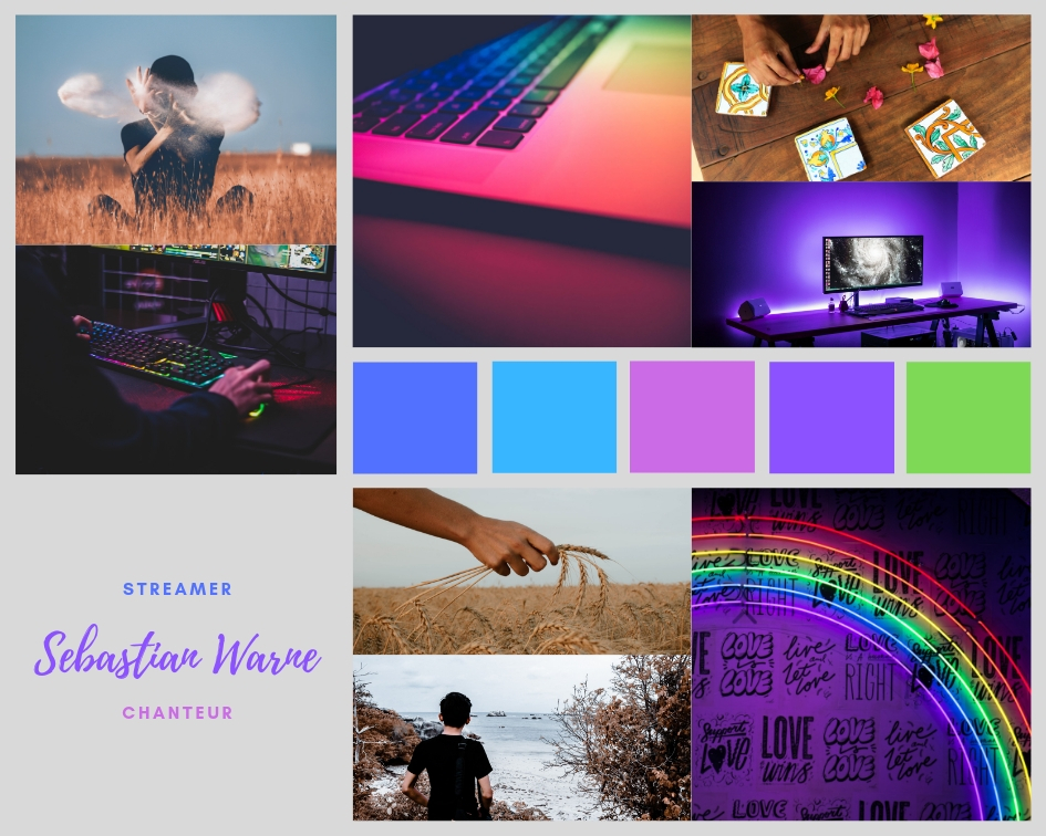 #moodboard #interview #lgbt #personnage #roman