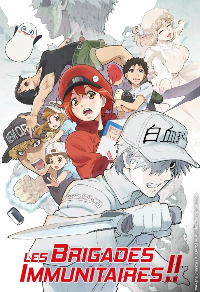 #anime #cover #hatarakusaibou